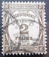 FRANCE Taxe N°62 Oblitéré - 1859-1955 Gebraucht