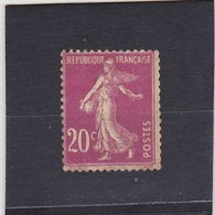 FRANCE   1907  Y.T. N° 139  Brun-rouge  NEUF* - 1906-38 Semeuse Con Cameo