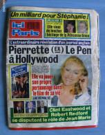 JOURNAL: ICI PARIS No 2226 Mars 1988 - Zonder Classificatie