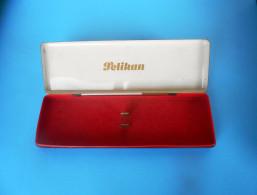 PELIKAN - Vintage Tin Box * Vieille Boîte Alte Zinn Vecchia Latta Vieja De Estaño Fountain Pen Pens Pencil Pencils RR - Boxes