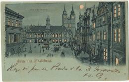 Gruss Aus Magdeburg Hold To Light Transparente  Edit W. Hagelberg - Magdeburg
