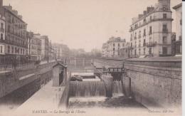 """44  LOIRE ATLANTIQUE NANTES """" Le Barrage De L'erdre """"  ND N° 195 - La Turballe"""