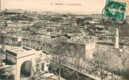 FRANCE TYPE SEMEUSE N°137 OB. MEDEA ALGERIE 1912 SUR CPA  POUR ALGER TB - 1900-29 Blanc