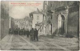 Reggio Calabria Largo Amalfitano Terremoto Dicembre 1908  Earthquake Foto Biagio Giarmoleo - Reggio Calabria