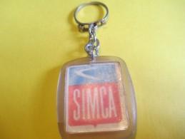 Automobile /SIMCA / Plastique/Garage Saint Jacques / COMPIEGNE/Années 60    POC162 - Key-rings