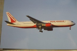 AIR INDIA  B 767  319ER   G CDPT        AIRPORT  LHR 2007      Collection Vilain - 1946-....: Era Moderna