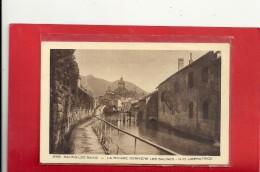 3983. SALINS-LES-BAINS - LA RIVIERE DERRIERE LES SALINES - N-D LIBERATRICE . NON ECRITE - Arbois