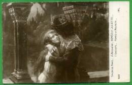 """SALON DE PARIS - G. BUSSIERE - """"ROMEO ET JULIETTE..."""" - Peintures & Tableaux"""