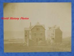 Photo Ancienne - ONIVAL - Beau Chalet En Bord De Mer - Début 1900 - Ault - Somme - Foto