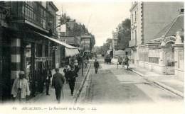FR-33: ARCACHON: Le Boulevard De La Plage - Arcachon