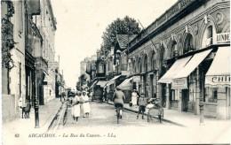 FR-33: ARCACHON: La Rue Du Casino - Arcachon