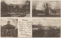 HANAU CARTE POSTALE DE 1918 - Hanau