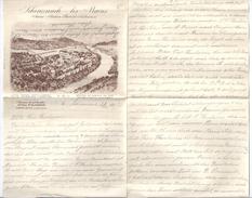 SCHINZNACH: Hotelbrief 1917 - AG Argovie