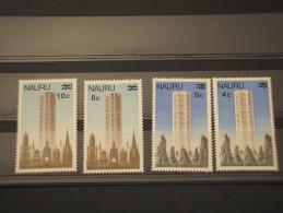 NAURU - 1978 ARCHITETTURA 4 VALORI. Soprast.  -  NUOVI(++) - Nauru
