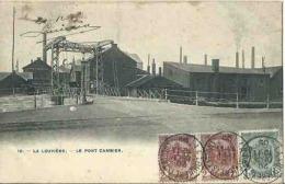 Unique CPA LA LOUVIERE Le Pont CAMBIER - La Louvière