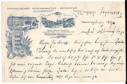 BADEN: Verenahof, 3-Bild-Vorläufer 1899 - AG Argovie