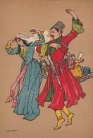 RUSSIA : GEORGIA - CAUCASE : TIFLIS / TBILISI - LEZGINKA / LEZGIAN DANCE By O. K. SCHMERLING ~ 1930 - '35 (u-352) - Géorgie