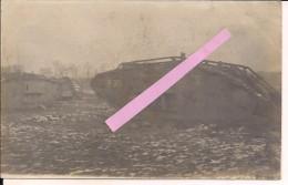 Bourlon Tanks Chars Panzer Anglais 1917 Cambrai Poilu Tranchéé 1914-1918 14-18 Ww1 Wk1 - Guerre, Militaire