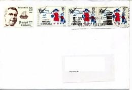 Andorra Spanische Post  - Bedarfsbrief    Gestempelt - Gebraucht