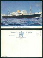 BARCOS SHIP BATEAU PAQUEBOT STEAMER [BARCOS #0615] - ROYAL MAIL SERVICES - RMS  ESCALANTE - Steamers