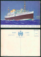 BARCOS SHIP BATEAU PAQUEBOT STEAMER [BARCOS #0634] - ROYAL MAIL LINES - RMS  HIGHLAND BRIGADE - Steamers