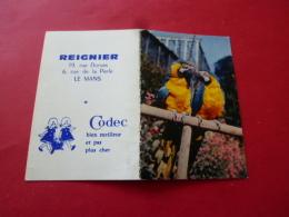 Calendrier De Poche Publicitaire 1969 LE MANS  REIGNER Rue Dumas , De La Perle  Magasin CODEC   SARTHE Aras - Petit Format : 1961-70