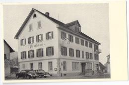 NEUENHOF: Gasthof Posthorn, Oldtimer ~1955 - AG Argovie