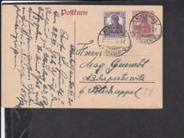 Ganzsache Deutsches Reich : Stempel  Altenberg 1920 - Ganzsachen
