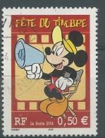 France, Mickey Mouse, Stamp Day, 2004, VFU - France