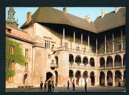 POLAND  -  Krakow  Zamek Krolewski  Na Wawelu  Used Postcard - Poland