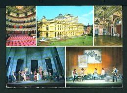 POLAND  -  Krakow  Theatre  Multi View  Used Postcard - Poland