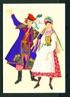 POLAND  -  Regional Costume  Krakow Region  Unused Postcard - Costumes