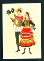 POLAND  -  Regional Costume  Lublin Region  Unused Postcard - Costumes