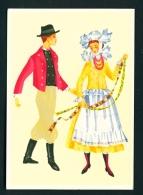 POLAND  -  Regional Costume  Poznan Region  Unused Postcard - Costumes