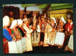 POLAND  -  Krakow Folklore  Unused Postcard - Costumes