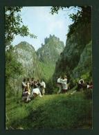 POLAND  -  Pieninski Folklore  Used Postcard - Costumes