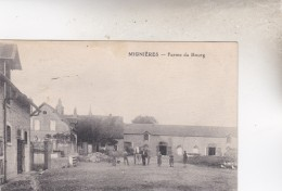 MIGNIERES   FERME DU BOURG  1922   D28 - Francia