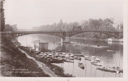PUTEAUX Pont (aval), Nombreuses Embarcations - Puteaux