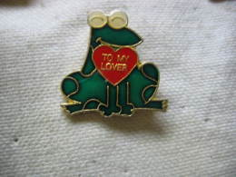 Pin´s Grenouille, Frog: To My Lover - Animaux