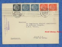 Enveloppe Ancienne - HANNOVER - Professor Dr. Ing. Marcard , Technische Hochschule - 1937 - Alemania