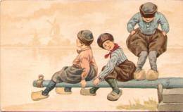 W. De Haan - Utrecht - Enfants En équilibre - 1900-1949