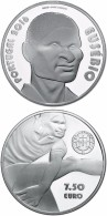 """PORTUGAL  7,5 € 2.016   2016 Cu Ni  SC/UNC  """"EUSEBIO""""  T-DL-11.749 - Portugal"""