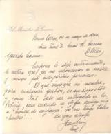 JUAN DOMINGO PERON PRESIDENTE DE LA ARGENTINA LE ENVIA ESTA CARTA A SU AMIGO EL GENERAL CACCIA DONDE HABLA DE LOS IMPOST - Autographes