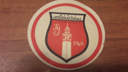 Old Hotel Labels - Hotel International, Macedonia, Veles - Otros