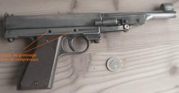 Beau Pistolet  4.5 Mm RECORD  LP2  Allemagne - Armes Neutralisées