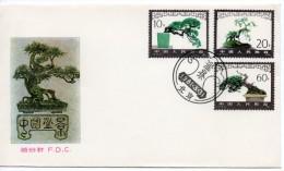 F.D.C. De China Chine : (8025) T61 Paysages Miniatures SG3053/5 - 1949 - ... République Populaire