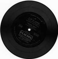 Disque Vinyle Souple Offert Par CLAUDEL 33T, à Toi De Choisir Et J´aurais Voulu B (rose1) - Special Formats