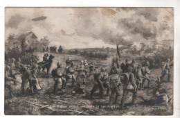 Nr. 7025,  Der Kaiser Mitte Im Gefecht Bei Verdun, Feldpost - War 1914-18
