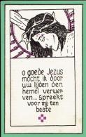 Bidprentje - Zuster MARIA-GIOVANNA (CECILE LECOUTERE) - Moorsele 1925 - Tielt 1947 - Images Religieuses