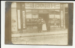 """25 - Doubs - Besançon ? Magasin """" Les Economiques """" - Au No 30 De La Rue - Charles Chuard - 2 Scanns - - Besancon"""